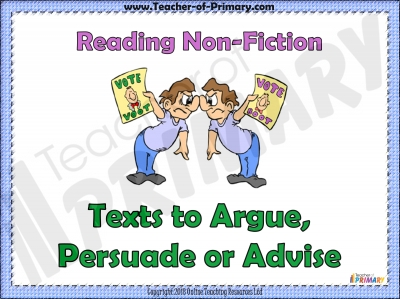 Argue  Persuade  Advise