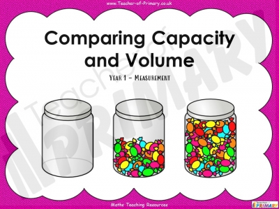 Comparing Capacity and Volume - Year 1