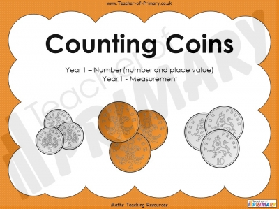 Counting Coins - Year 1