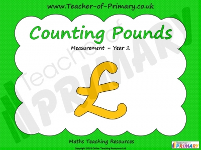 Counting Pounds - Year 2