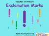 Exclamation Marks KS1 (slide 1/22)
