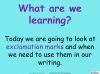 Exclamation Marks KS1 (slide 2/22)