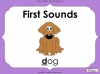First Sounds - EYFS (slide 1/16)