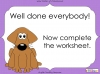 First Sounds - EYFS (slide 15/16)