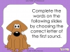 First Sounds - EYFS (slide 5/16)