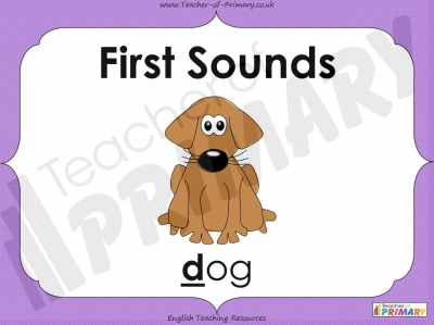 First Sounds - EYFS