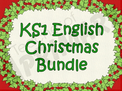 KS1 English Christmas Bundle
