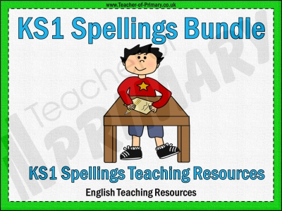 KS1 Spellings Bundle