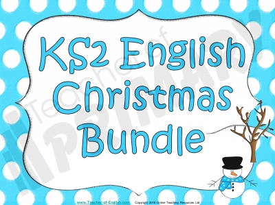 KS2 English Christmas Bundle
