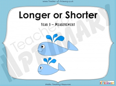 Longer or Shorter - Year 1