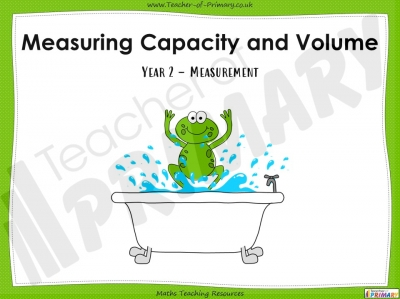Measuring Capacity and Volume - Year 2
