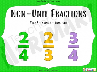 Non-Unit Fractions - Year 2